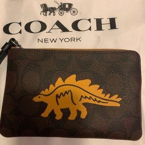 Coach steggy wristlet.
